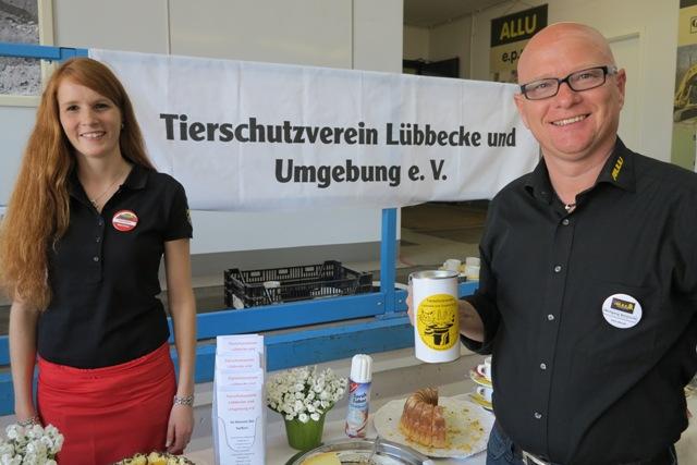 Großzügige Spende von der Firma Allu Deutschland GmbH